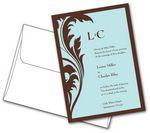 Custom Wedding Invitation w/ Envelopes (5