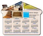 Custom 20 Mil Delivery House Shape Magnet (4.25