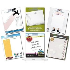 Dry Erase Laminated Magnetic Memo Board