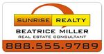 Custom Real Estate Magnetic Car Signs - 24