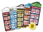 Custom Magna-Card House Shape Magnet Baseball Schedules (3.5