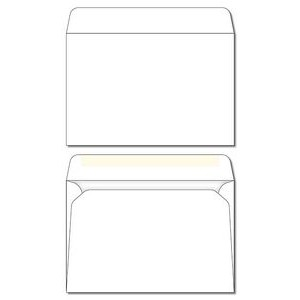 "#7 Plain White Envelope (6.75""x3.75"")"