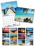 Custom Island Getaway 13 Month Custom Appointment Wall Calendar (11
