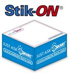 Custom Stik-ON 1-Color ½-Cube Adhesive Note