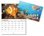 Custom Under The Sea 13 Month Mini Custom Photo Appointment Wall Calendar