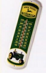 27 Metal Vertical Thermometer