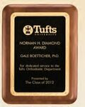 Custom Walnut Plaque w/ Gold Florentine Border & Textured Black Center (8