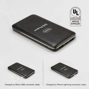 UL Certified 10,000 mAh Stylish Metal Powerbook