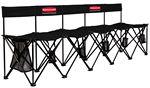 Custom TravelBench El Grande Portable Seating w/ Back Supports - 5 Seats