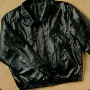 Tyca's Embossed Leather Jacket