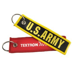 Remove Before Flight Tag w/large split ring