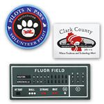 Custom Patches w/ Iron-On Adhesive - up to 14 sq. inches