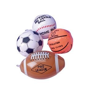 Inflatable Assorted Sport Ball