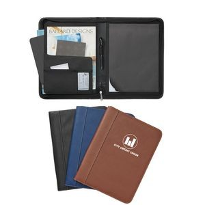 Madison Zippered Padfolio