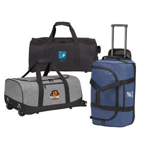 "22"" Rolling Carry On Duffel"
