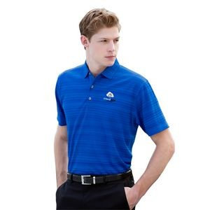 Vansport™ Strata Textured Polo Shirt