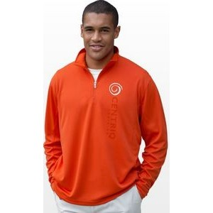 Vansport™ Mesh 1/4-Zip Tech Pullover Sweater