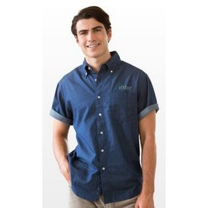 Short Sleeve Hudson Denim Shirt