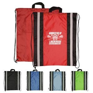 Large Reflective Drawstring Sport Bags