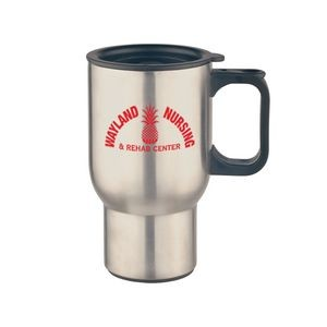 Mugs - 16 Oz. Stainless Steel Custom Printed Travel Mug