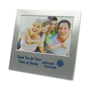 "Aluminum Picture Frame for 4""x6"" Photo"