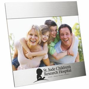 "Aluminum Picture Photo Frame Holds 5"" X 7"" Photograph"