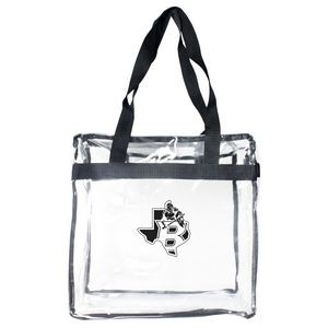 Totes - Clear Zippered Stadium Tote