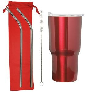 20 Oz. Stainless Steel Tumbler Set