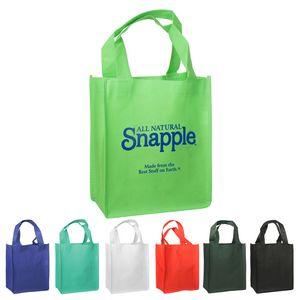 Bags - Non-Woven Mini Gift Tote Bag (8.25W x 10H x 4D)