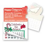 Custom Mortar & Pestel Calendar Pad Sticker W/ Tear Away Calendar
