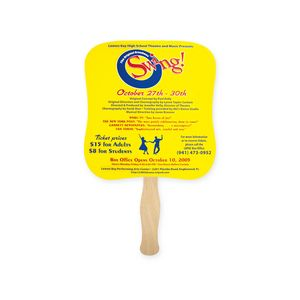 Fan - Palm Shape Single Hand Fan