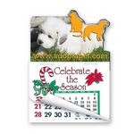 Custom Dog & Cat Shape Calendar Pad Magnets W/Tear Away Calendar