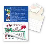 Custom Rectangle Calendar Pad Sticker W/Tear Away Calendar