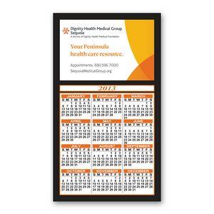 Calendar Magnet - 4x7 Magnetic Calendar Custom Imprinted Magnets - 20mil