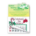 Custom Tow Truck Shape Calendar Pad Magnets W/Tear Away Calendar