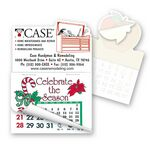 Custom Toolbox Shape Calendar Pad Sticker W/Tear Away Calendar