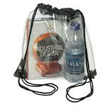 Custom Drawstring Backpack - Clear Drawstring Bags