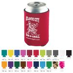 Custom Beverage Insulator Cooler Pocket Can Coolie - 3 Side Imprint Included!