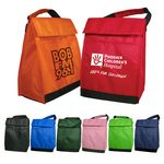 Custom Lunch Bag - Polyester Insulated Lunch Bags with Handle & Pocket