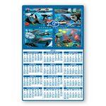 Custom Rectangle Shape Custom Printed Calendar Sheets (11