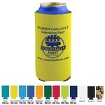 Custom Tall Beverage Insulator Cooler Pocket Can Coolie - 3 Side Imprint Included!