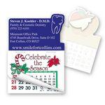 Custom Tooth Shape Calendar Pad Sticker W/Tear Away Calendar
