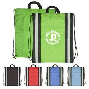 Reflective Drawstring Sport Bags