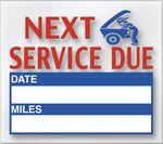 Custom V-T Generic Service Loyalty Reminder Stickers