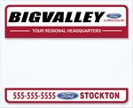 Custom V-T Blank ROS Sticker (4 1/2