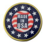 Custom High Volume Full Color Pins - Made in USA