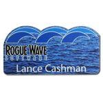 Custom Custom Shape Full Color Personalized Name Badges