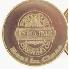 "Custom Cladium Brass 15 Gauge Die Struck Token (1 1/4"")"
