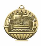 Custom Scholastic Medals - Perfect Attendance