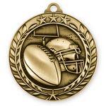 Custom 3D Sports & Academic Medal / Football